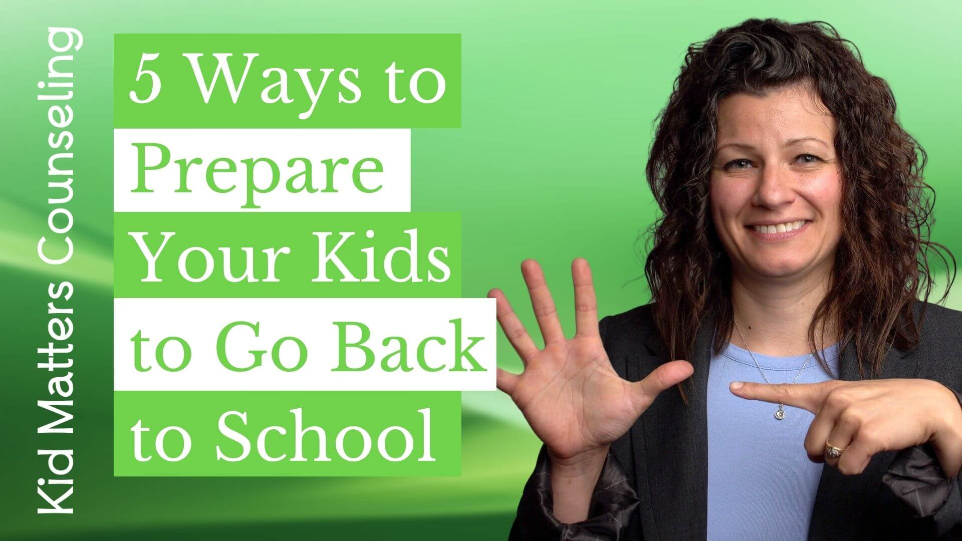 5 Ways to Prepare Your Kids to Go Back to School