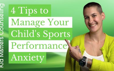 4 Tips to Help Manage Your Child's Sports Performance Anxiety