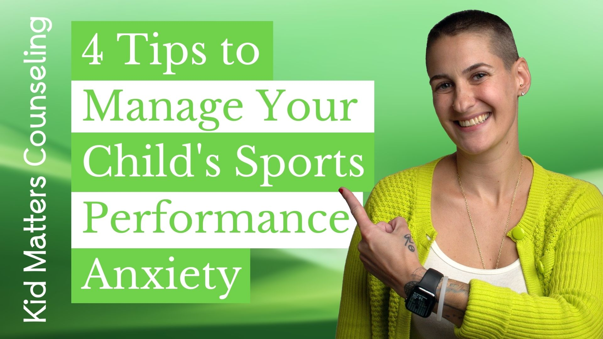 4 Tips to Manage Your Child's Sports Performance Anxiety