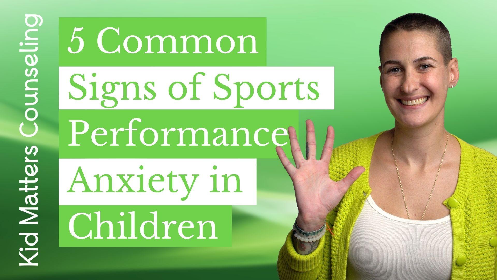 5 Common Signs of Sports Performance Anxiety in Children