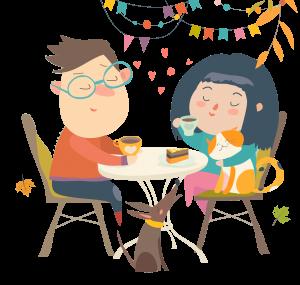Divorce & Children - Children partying